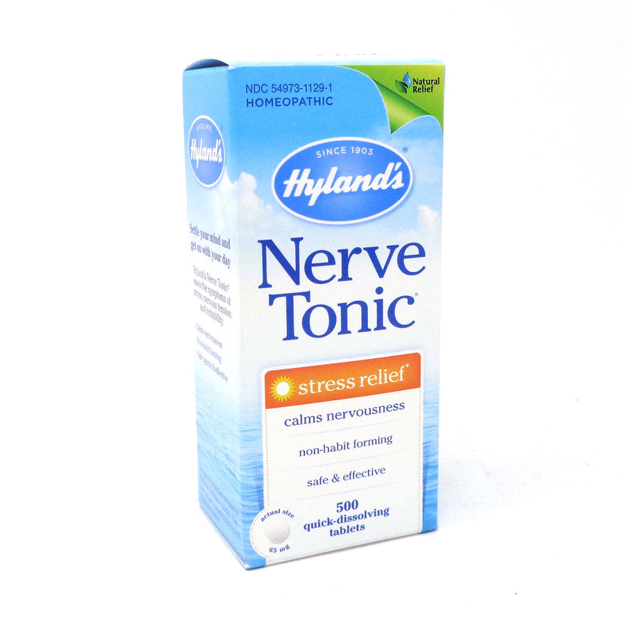 Nerve Tonic Stress Relief By Hylands - 500 Tablets