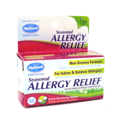 Hylands Seasonal Allergy Relief - 60 Tablets