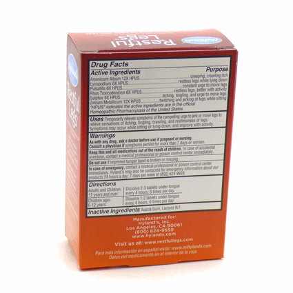 Restful Legs by Hylands - 50 Tablets