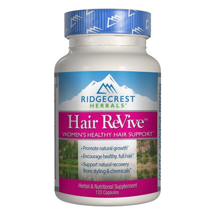 Hair Revive By Ridgecrest Herbals 120 Capsules