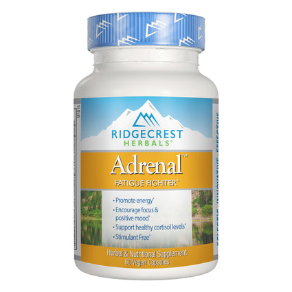 Adrenal Fatigue Fighter by Ridgecrest Herbals - 60 Capsules