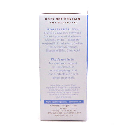 Intimate lubricant Fragrance-Free  by Emerita - 4 Fluid Ounces