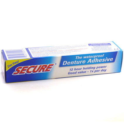 Secure Denture Bonding Cream by Dentek - 1.4 Ounces