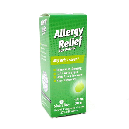Allergy By NatraBio - 1 oz