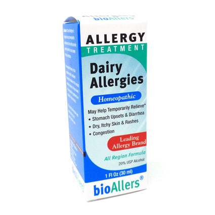 Bioallers Food Allergies Dairy - 1 oz Liquid