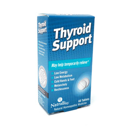 Thyroid Support By NatraBio - 60  Tablets