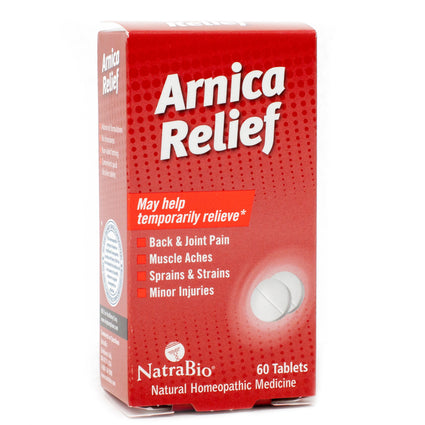 NatraBio Arnica Relief  - 60 Tablets