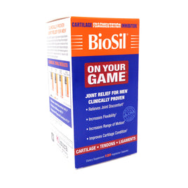 Biosil On Your Game by Natural Factors - 120 Capsules