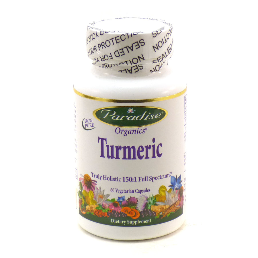 Turmeric  by Paradise Herbs - 60 Capsules