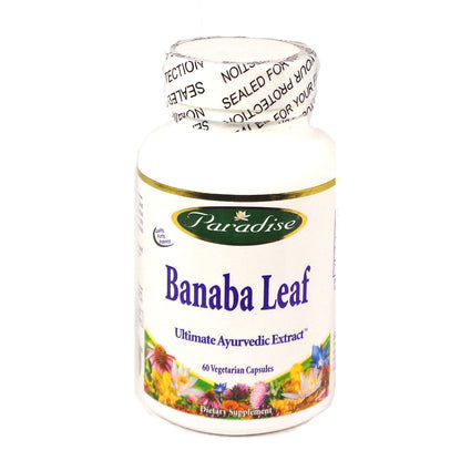 Banaba Leaf by Paradise Herbs - 60 Capsules