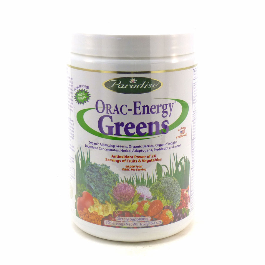 Orac Energy Greens By Paradise Herbs - 6.4 Ounces