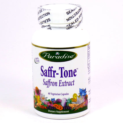 Saffr-Tone by Paradise  Herbs - 60 Capsules