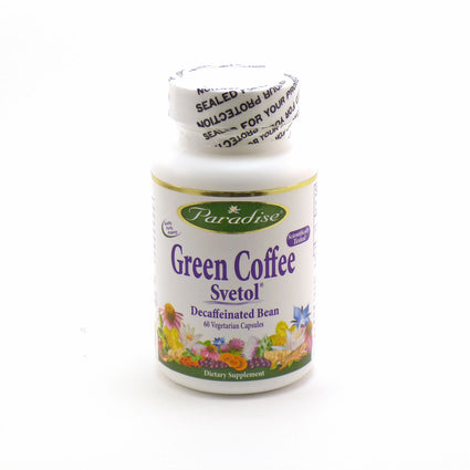 Green Coffee Svetol By Paradise Herbs - 60 Capsules