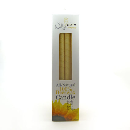 PROHIBITED DO NOT LIST Beeswax Candle By Wally's - 4 Pack