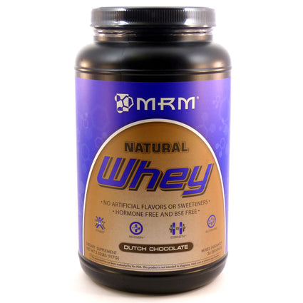 100% Natural Whey Protein Chocolate By MRM - 2.02 Pounds
