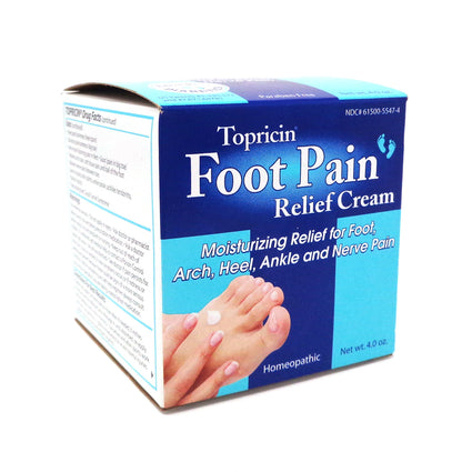 Foot Therapy Cream by Topricin - 4 ounces