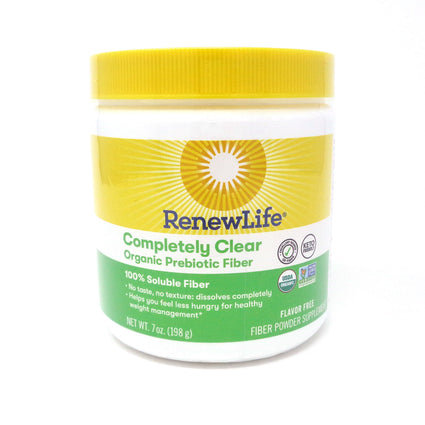 Renew Life Completely Clear Organic Prebiotic Fiber - 7 ounces