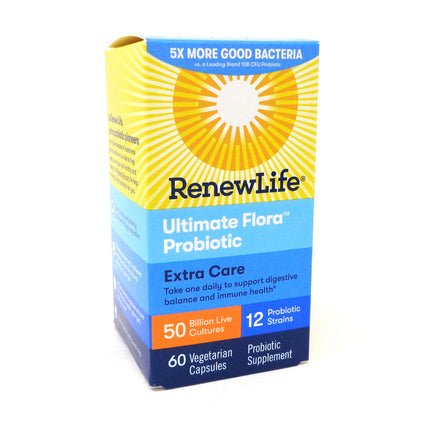 Renew Life Ultimate Flora Critical Care 50 Billion  - 60 Capsules