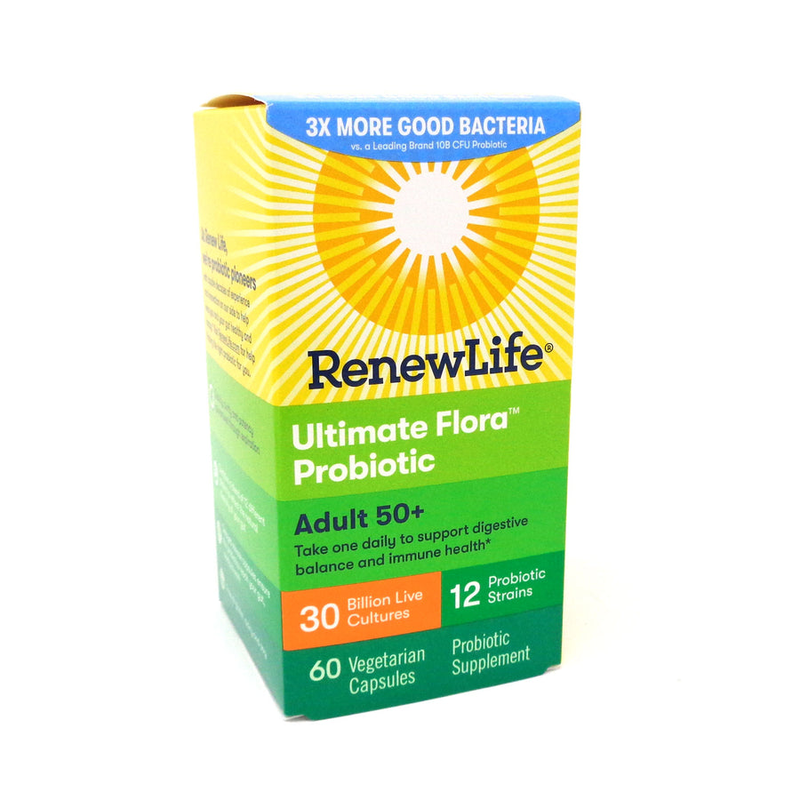 Renew Life Ultimate Flora 30 Billion Senior Formula  - 60 Vegetable Capsules