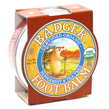 Foot Balm By Badger - 2 Ounces