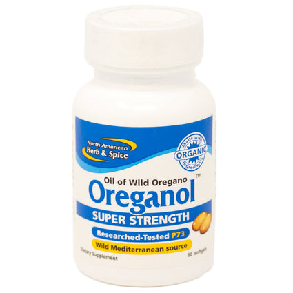 Super Strength Oreganol P73 By North American Herb & Spice - 60 Softgels