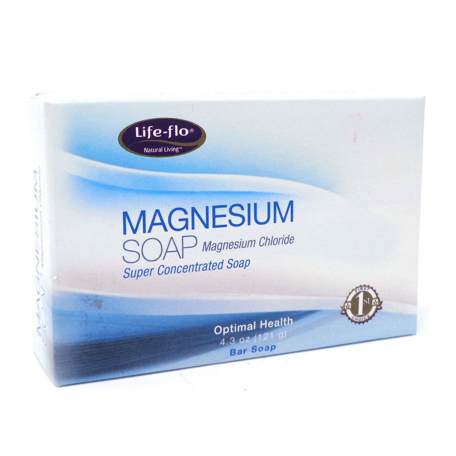 Magnesium Bar Soap By Life Flo - 4.3 Ounces
