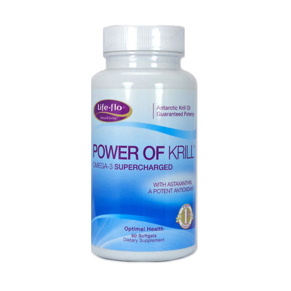 Power of Krill   by life flo - 60 softgels