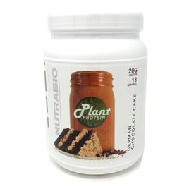 NutraBio Plant Protein German Chocolate Cake - 18 Servings