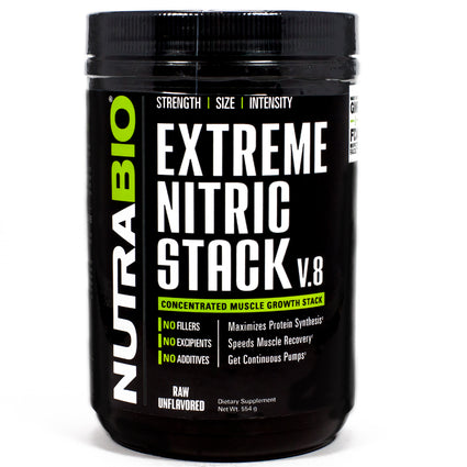 Extreme Nitric Stack by NutraBio - 30 Servings