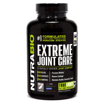 Extreme Joint Care  by NutraBio - 120 Capsules