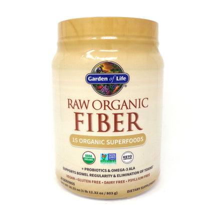 Raw Fiber by Garden of Life - 600 Grams