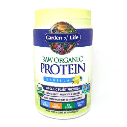 Raw Protein Vanilla By Garden Of Life - 22 Ounces