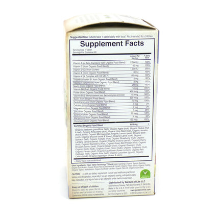 Kind Men's Once Daily By Garden Of Life - 60 Vegan Tablets