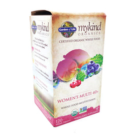 Kind Women's Multi 40+ By Garden Of Life - 120 Vegan Tablets