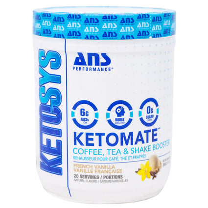 ANS Performance Ketomate French Vanilla - 20 Servings