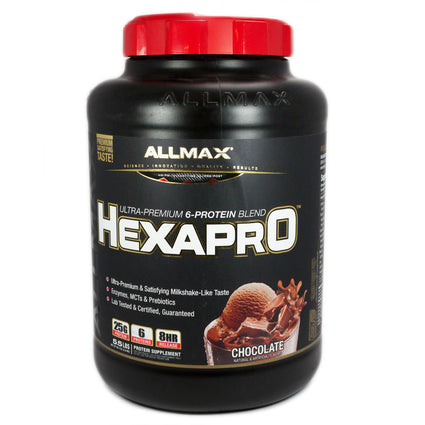 Allmax Hexapro Chocolate Protein  - 5.5 Pounds