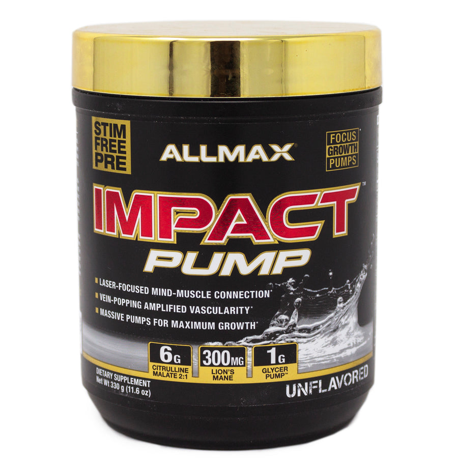 Allmax Allmax Impact Pump Unflavored - 11.6 Ounces