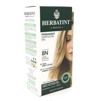Herbal Hair Color (8N Light Blonde) By Herbatint Hair Products