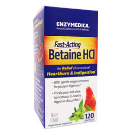 Betaine HCI  by Enzymedica - 120 Capsules