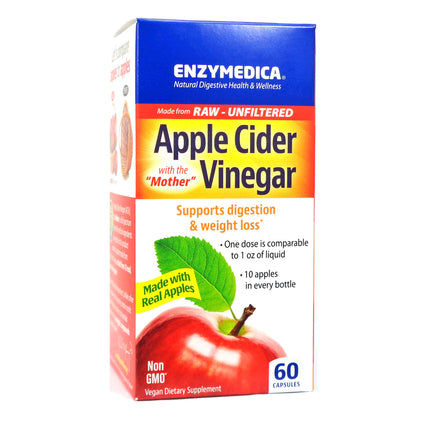Apple Cider Vingar by Enzymedica - 60 Capsules