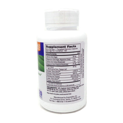 pH-Basic by Enzymedica - 120 Capsules