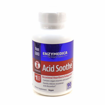 Acid Soothe By Enzymedica - 90 Capsules