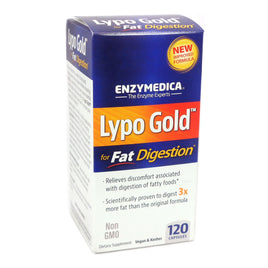 Lypo Gold By Enzymedica - 120 Capsules