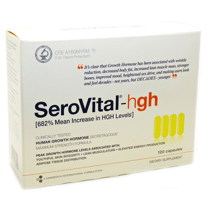 Anti-Aging  Supplement By Serovital - 120 Capsules