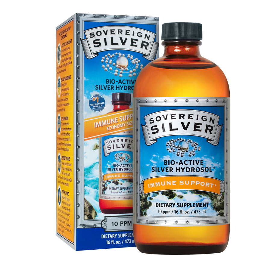 Sovereign Silver 10ppm By Natural Immunogenics - 16 Ounces