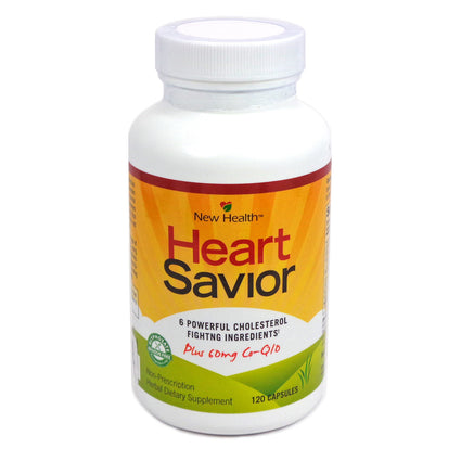 Heart Savior By New Health Corp. - 120 Capsules