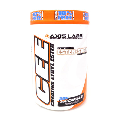 Axis labs Creatine Ethyl Ester - 396 Capsules