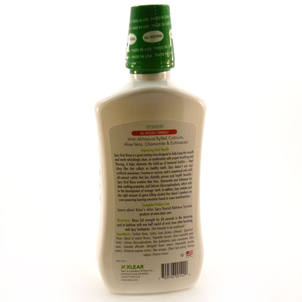 Spry Oral Rinse Spearmint by Xlear - 16 Ounces
