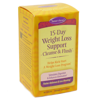 15-Day Weight Loss Support by Nature's Secert - 60 Tablets