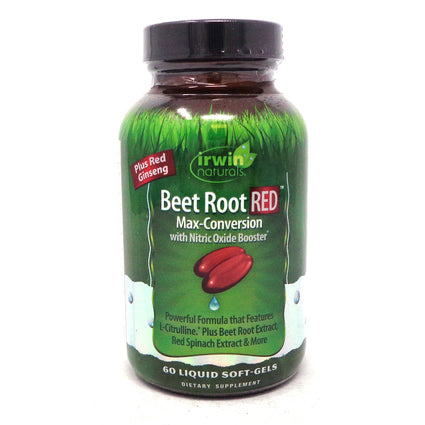 Beet Root Red by Irwin Naturals - 60 Liquid Softgels